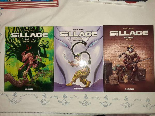 Sillage/Brazda 1-3 Komplet Bookglobe